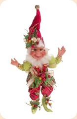 Mark Roberts Collectible Holly Berry Christmas Elf - Medium 18_5